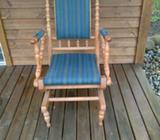 rokkestol, træ