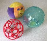 Oball, Oball og baby buddy, andet babylegetøj