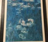 Plakat, Claude Monet, motiv: Les nymphéas