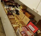 Cigartilbehør, Stort parti af cigar og tilbehør
