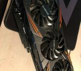 GTX 1070 Gigabyte, 8 GB RAM, Perfekt