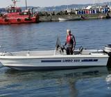 Limbo, Styrepultbåd, 19 fod