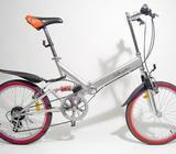 Foldecykel, Holbergshus Lille mountainbike, 6 gear