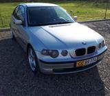 BMW 320d 2,0 Touring Van Diesel modelår 2002 Sølvmetal km