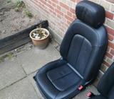 Sæde og seler, Læder sæder , Audi A6 4g