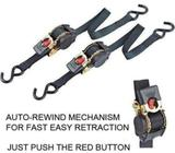 CHT754 3m Heavy Duty Ratcheting Tie Down (Twin Pac