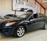 Mazda 3 1,6 Premium Benzin modelår 2011 km 123000 Sortmetal