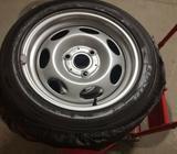 Stålfælge, fælge med dæk