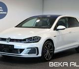 VW Golf VII 1,4 GTE DSG Benzin aut. Automatgear modelår 2020