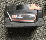 Batteri, MILWAUKEE
