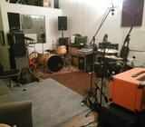 Øvelokaler København / Rehearsal room Copenhagen