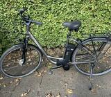 Elcykel med ny motor og 2 års garanti